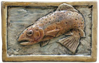 jumping trout tile